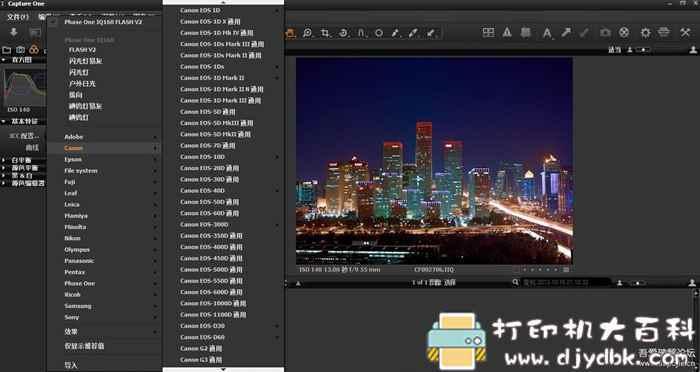 [Windows]raw格式文件处理软件 飞思相机Capture One Pro 11.1中文版图片 No.2