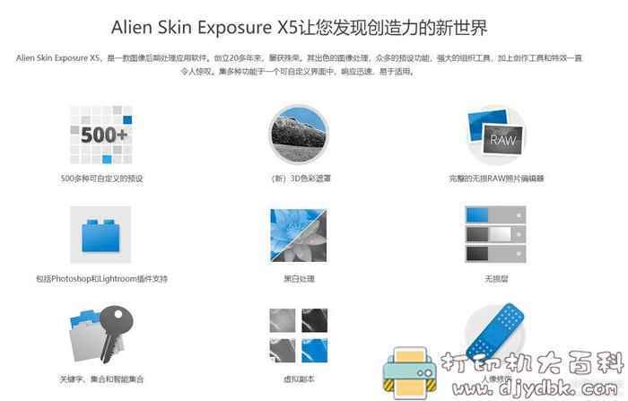 [Windows]Phhotoshop顶级插件 Alien Skin Exposure X5.0中文破解版图片 No.4