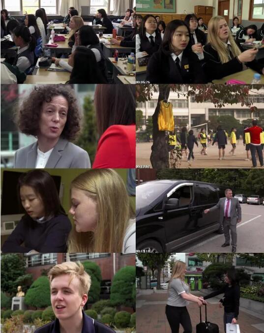 [英语无字]BBC真人秀纪录片:英国学生赴韩国体验魔鬼教育再被虐 School Swap: Korea Style (2016) 全2集图片 No.1