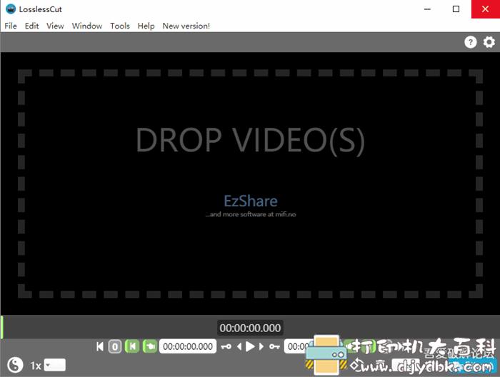 PC视频无损分割 LosslessCut v3.15.0 便携版图片