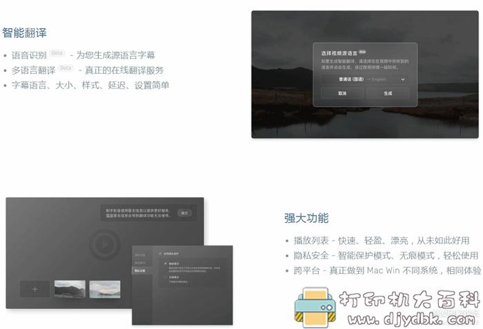 [Windows]电影实时在线字幕翻译播放器图片 No.1