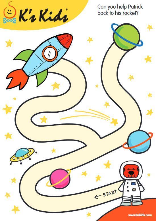 K's Kids英语小游戏PDF,11个分类(涂色、走迷宫、找不同、找单词、故事排序等)图片 No.3