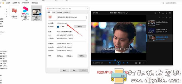 腾讯QLV,优酷KUX,爱奇艺QSV视频转换器无损转换MP4格式图片 No.9