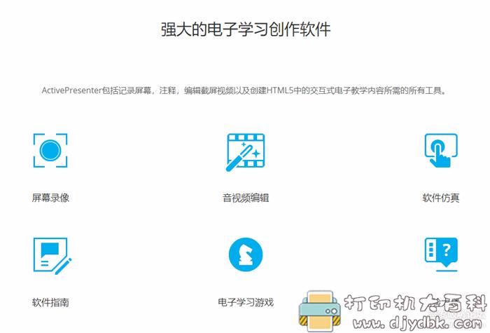 电子教学录屏软件Active Presenter pro8.0.3中文特别版图片 No.1
