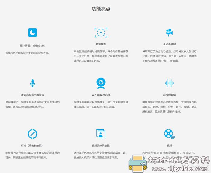 电子教学录屏软件Active Presenter pro8.0.3中文特别版图片 No.4