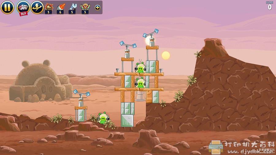 安卓游戏分享 愤怒的小鸟:星球大战高清版 v1.5.13图片 No.4