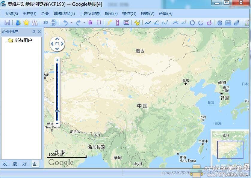 [Windows]奥维互助地图电脑VIP9图片