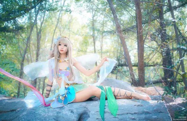 cosplay – LoveLive花妖觉醒#好漂亮的小仙女!_图片 No.1