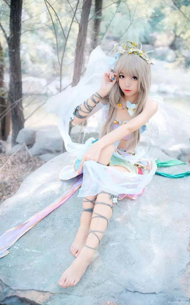 cosplay – LoveLive花妖觉醒#好漂亮的小仙女!_图片 No.8