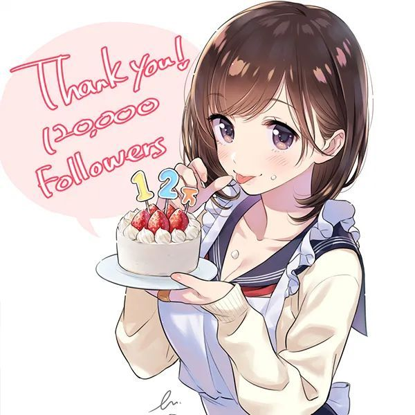 【动漫头像】甜甜的少女们,比手上的蛋糕更美味_图片 No.2