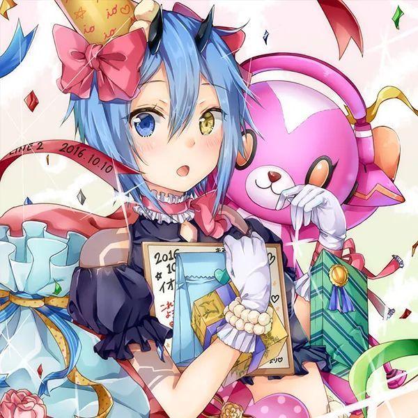 【动漫头像】甜甜的少女们,比手上的蛋糕更美味_图片 No.18