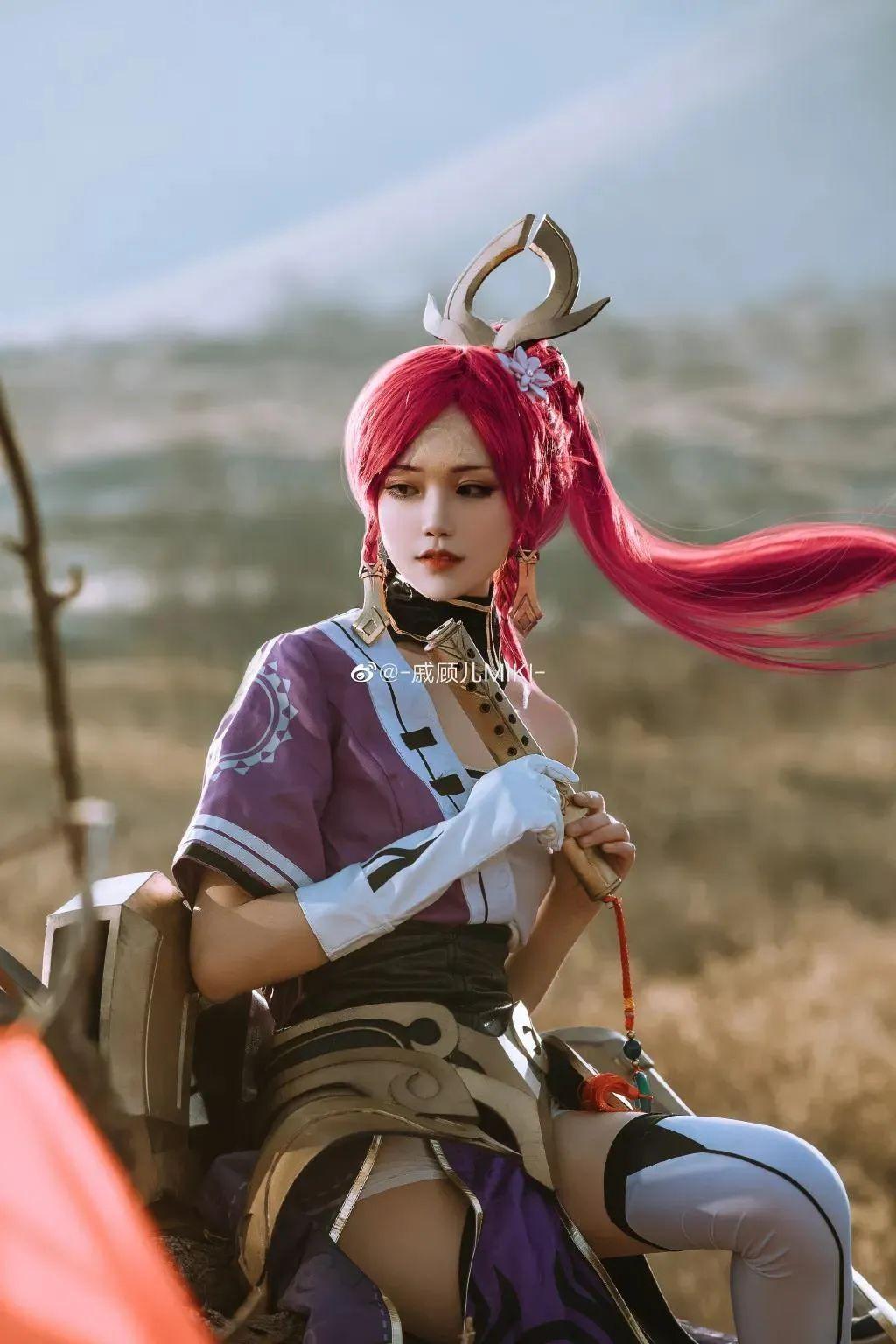 Cosplay – 王者荣耀 伽罗,千窟为佑,太平无忧~_图片 No.8