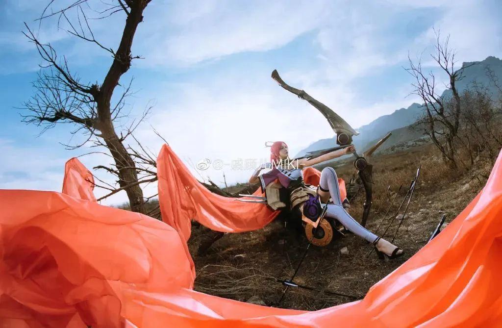 Cosplay – 王者荣耀 伽罗,千窟为佑,太平无忧~_图片 No.9