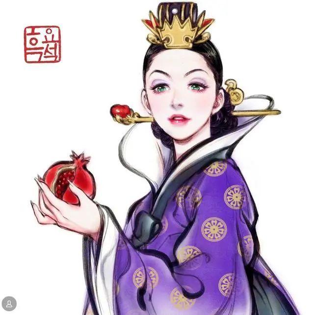 韩国画师的鬼斧神工,木之本樱长大后的模样,迪士尼公主变得更仙!_图片 No.3