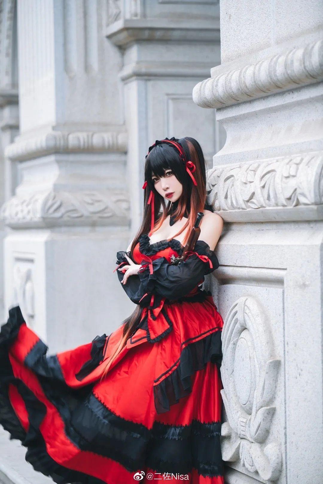 cosplay – 《约会大作战》时崎狂三,持枪的三三太A了 (cn:二佐Nisa)_图片 No.5