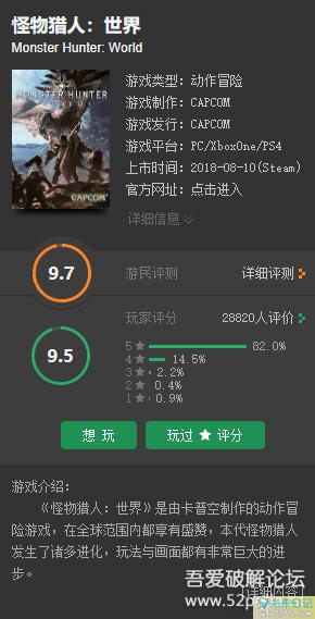 PC游戏分享 怪物猎人世界 中文免安装版图片 No.2
