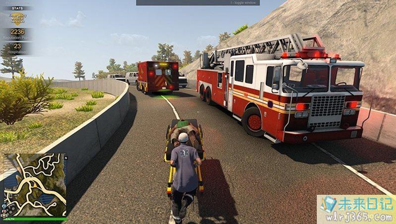 PC游戏分享:《警情,消防,急救模拟器》中文绿色版,解压即玩[1.13G] 配图 No.9