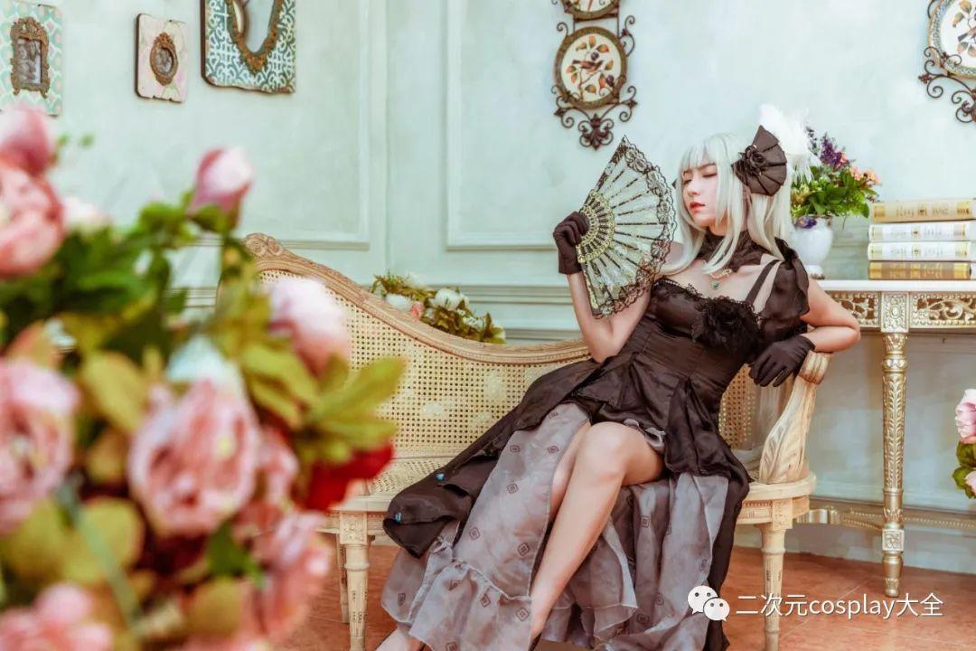 cosplay – FGO玛丽安托瓦内特,优雅俊美,笑靥如花的美少女 - [leimu486.com] No.3
