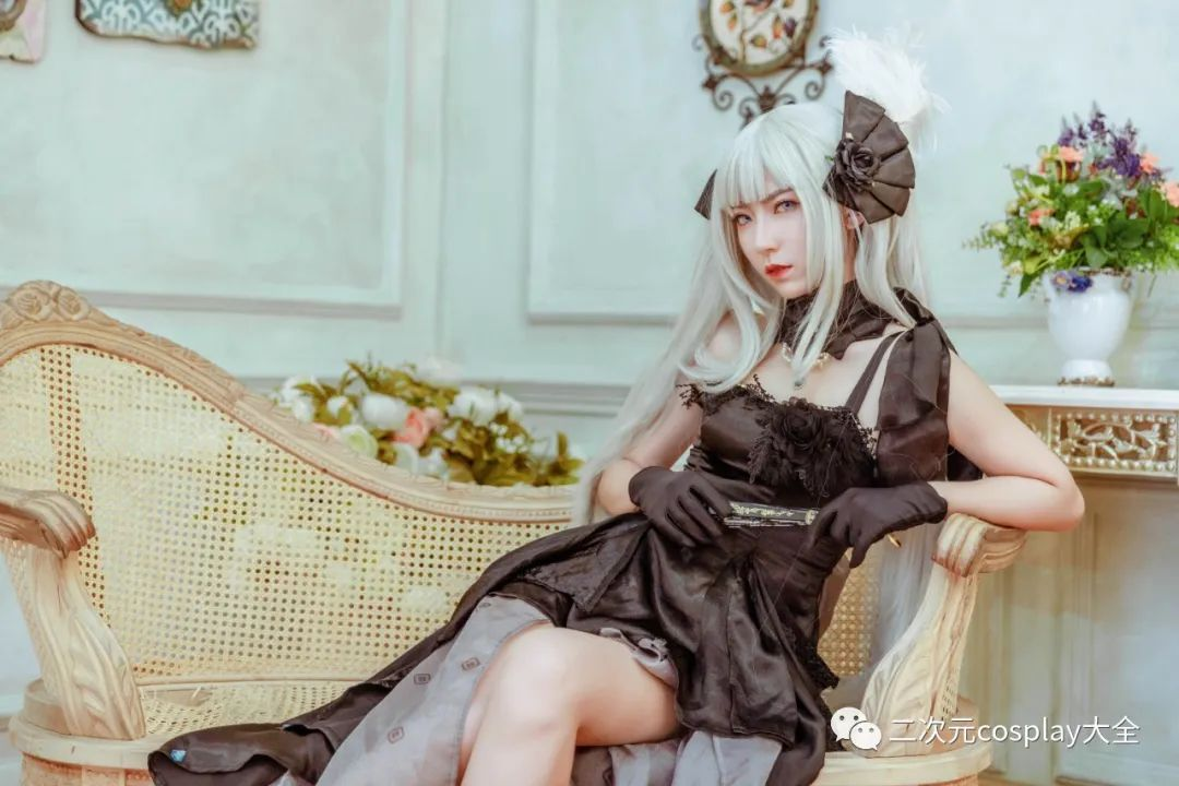 cosplay – FGO玛丽安托瓦内特,优雅俊美,笑靥如花的美少女 - [leimu486.com] No.4
