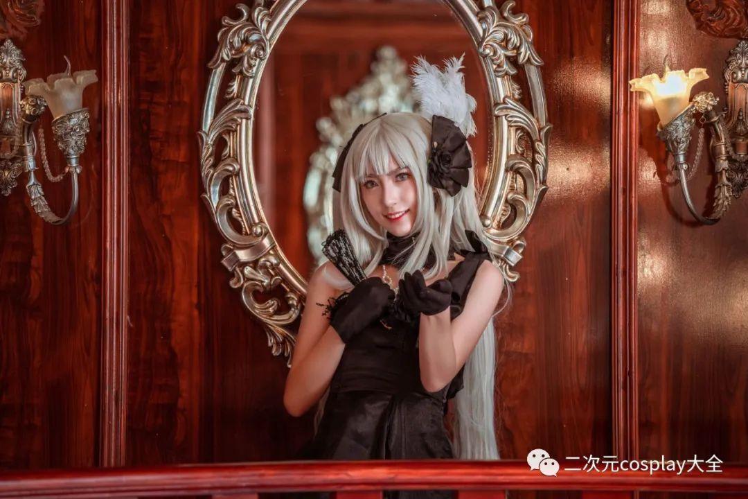 cosplay – FGO玛丽安托瓦内特,优雅俊美,笑靥如花的美少女 - [leimu486.com] No.6