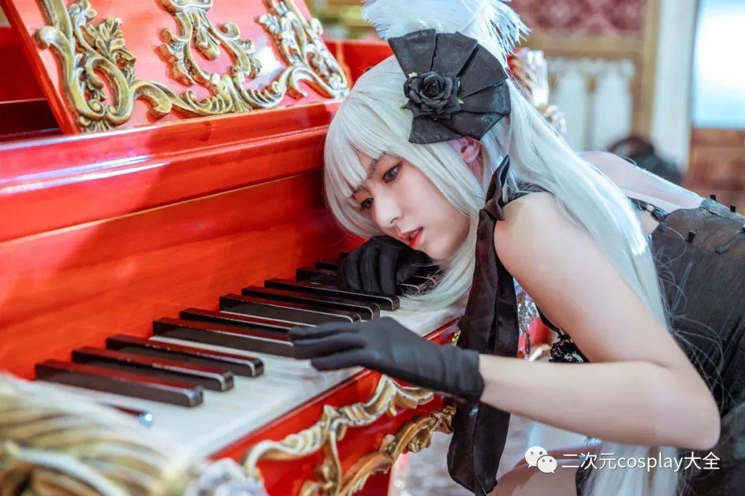 cosplay – FGO玛丽安托瓦内特,优雅俊美,笑靥如花的美少女 - [leimu486.com] No.8