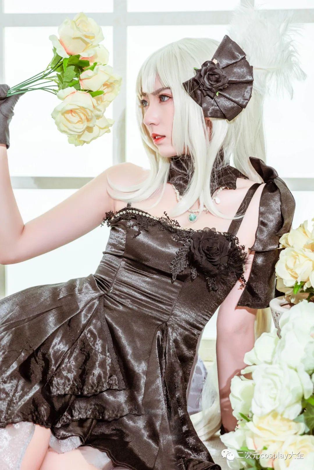 cosplay – FGO玛丽安托瓦内特,优雅俊美,笑靥如花的美少女 - [leimu486.com] No.9