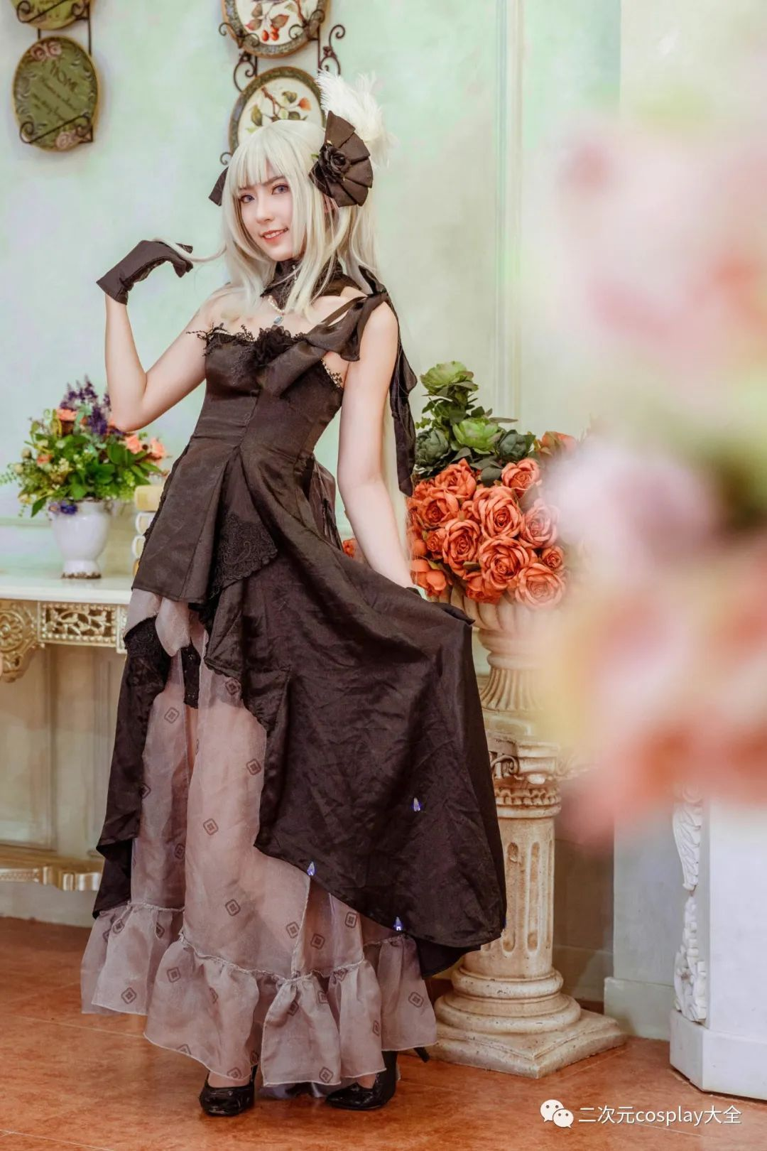 cosplay – FGO玛丽安托瓦内特,优雅俊美,笑靥如花的美少女 - [leimu486.com] No.10