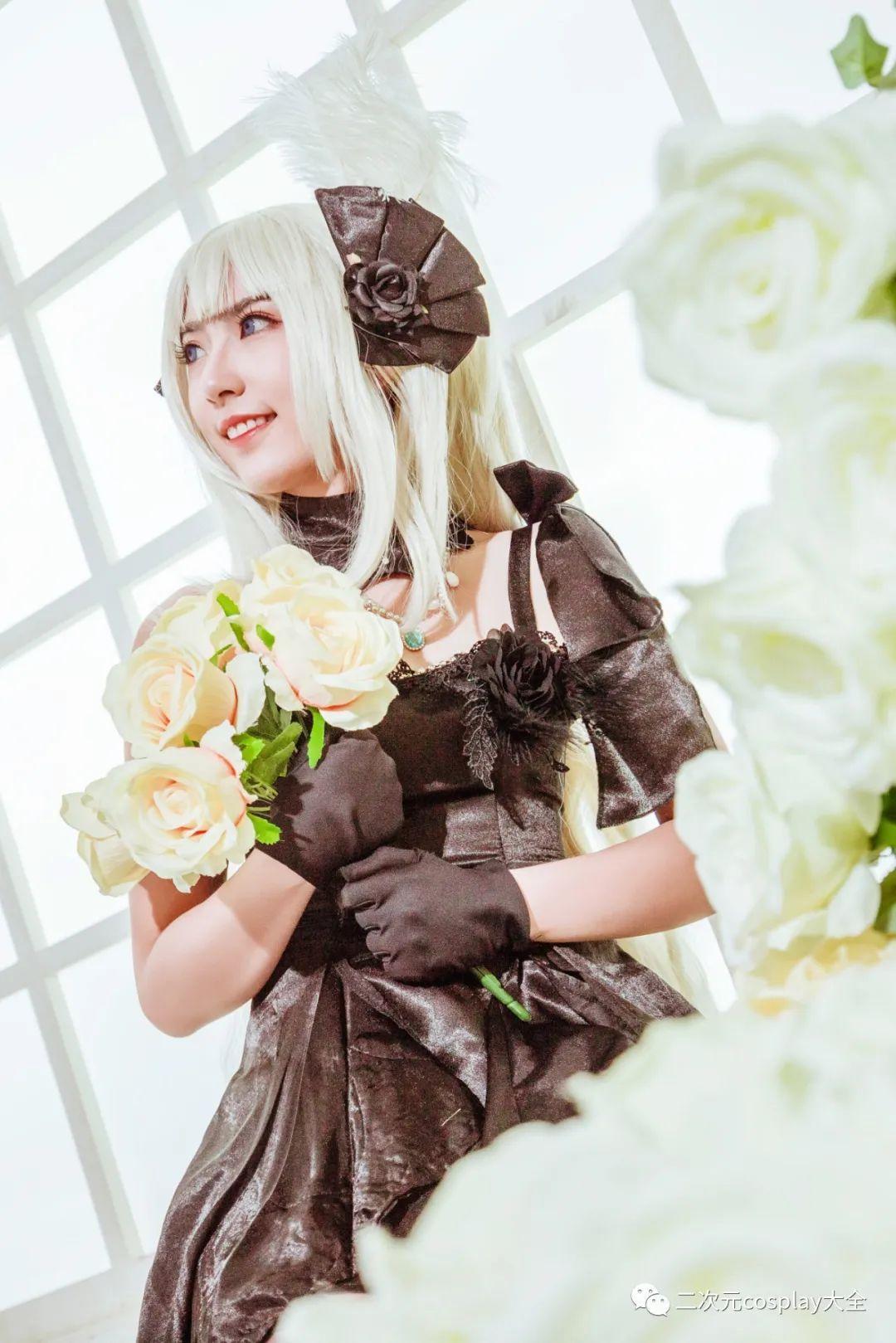 cosplay – FGO玛丽安托瓦内特,优雅俊美,笑靥如花的美少女 - [leimu486.com] No.11