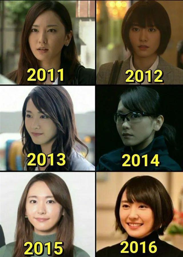 新垣结衣的2005年~2020年颜值变化,老婆真的好好看啊_图片 No.2