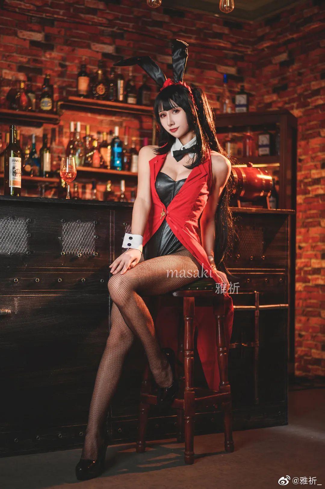 《约会大作战》时崎狂三cosplay,你可曾见过如此混血的三三?_图片 No.3
