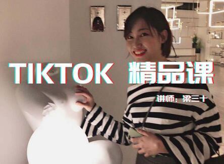Tiktok(抖音国际版)高级实战课,单条视频300w点赞,单账号涨粉200w【视频教程】 配图