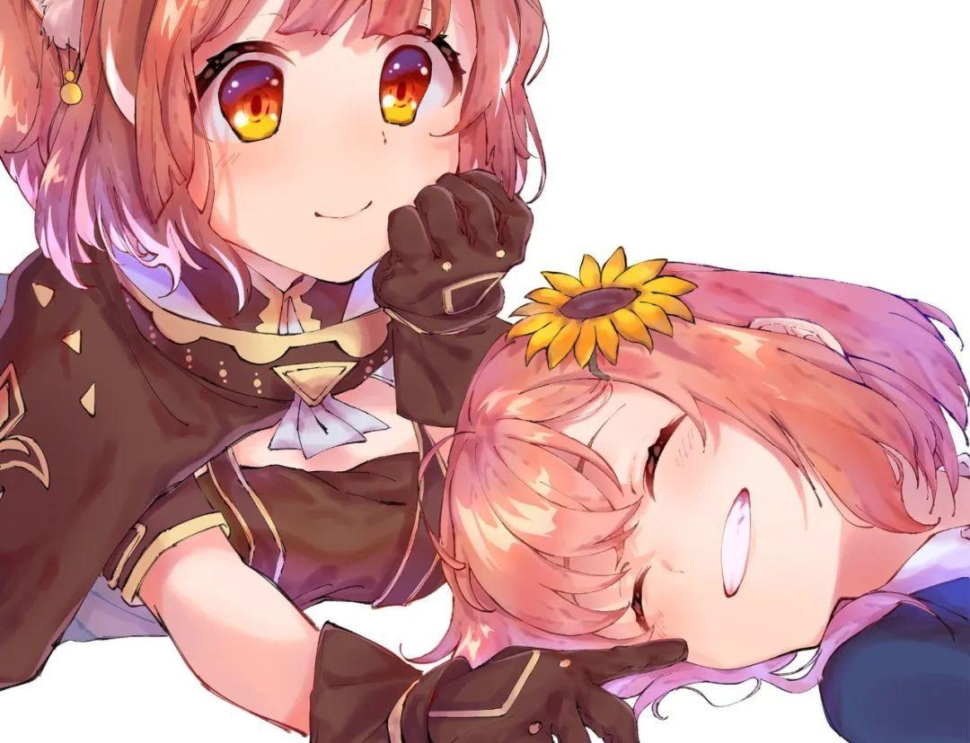 4月12日,二次元美图!JK短裙与粉色樱花配一脸!_图片 No.9