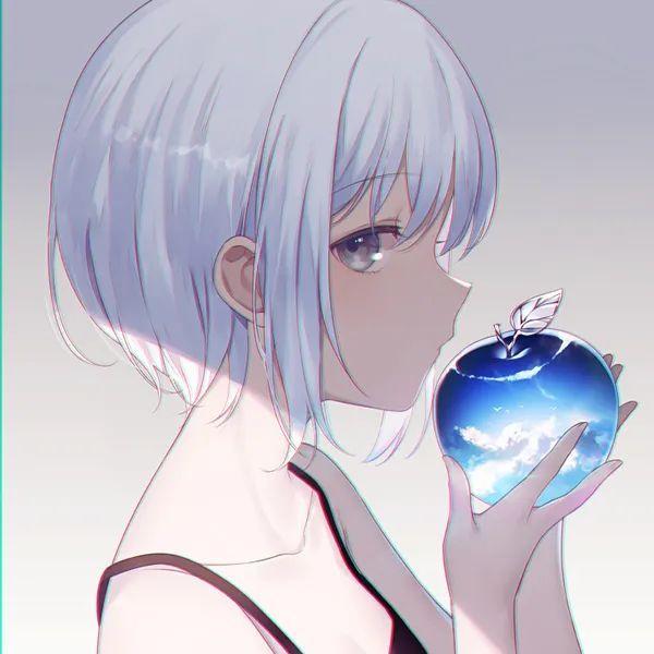 超nice的动漫妹子头像图集~_图片 No.14