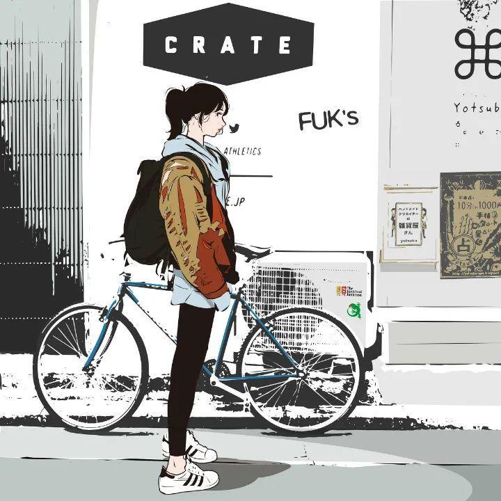 P站美图推荐——单车特辑(三)_图片 No.9