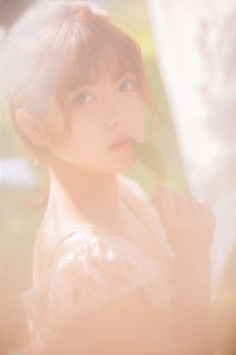 妹子摄影 – 甜美公主裙软萌少女_图片 No.3