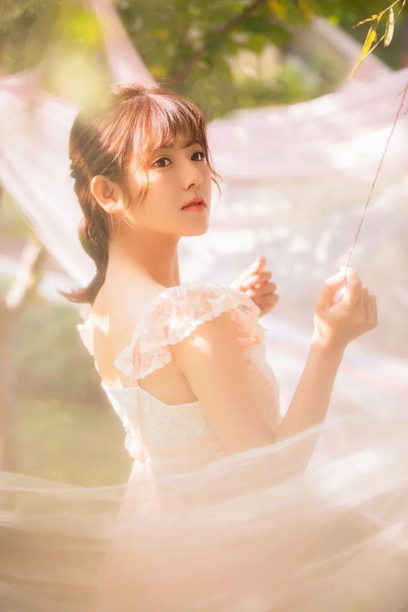 妹子摄影 – 甜美公主裙软萌少女_图片 No.6
