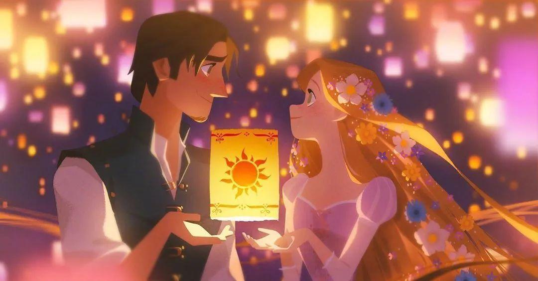 4月16日,二次元美图!迪士尼公主与王子+少女们大眼睛含泪花_图片 No.1