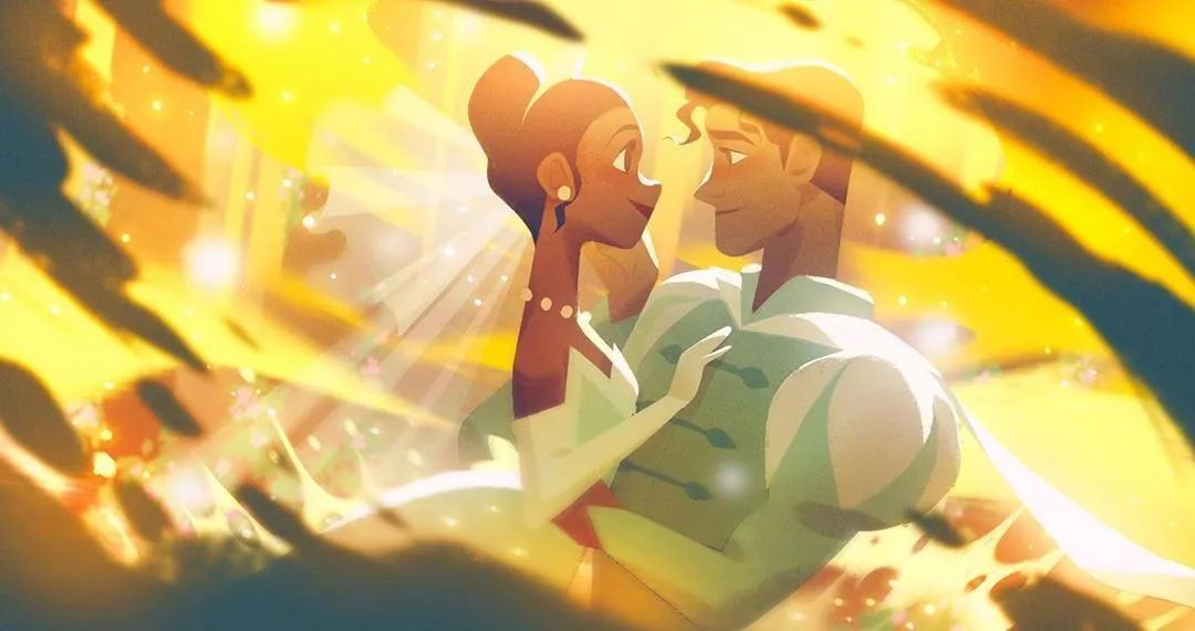 4月16日,二次元美图!迪士尼公主与王子+少女们大眼睛含泪花_图片 No.3
