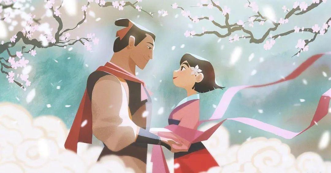 4月16日,二次元美图!迪士尼公主与王子+少女们大眼睛含泪花_图片 No.8
