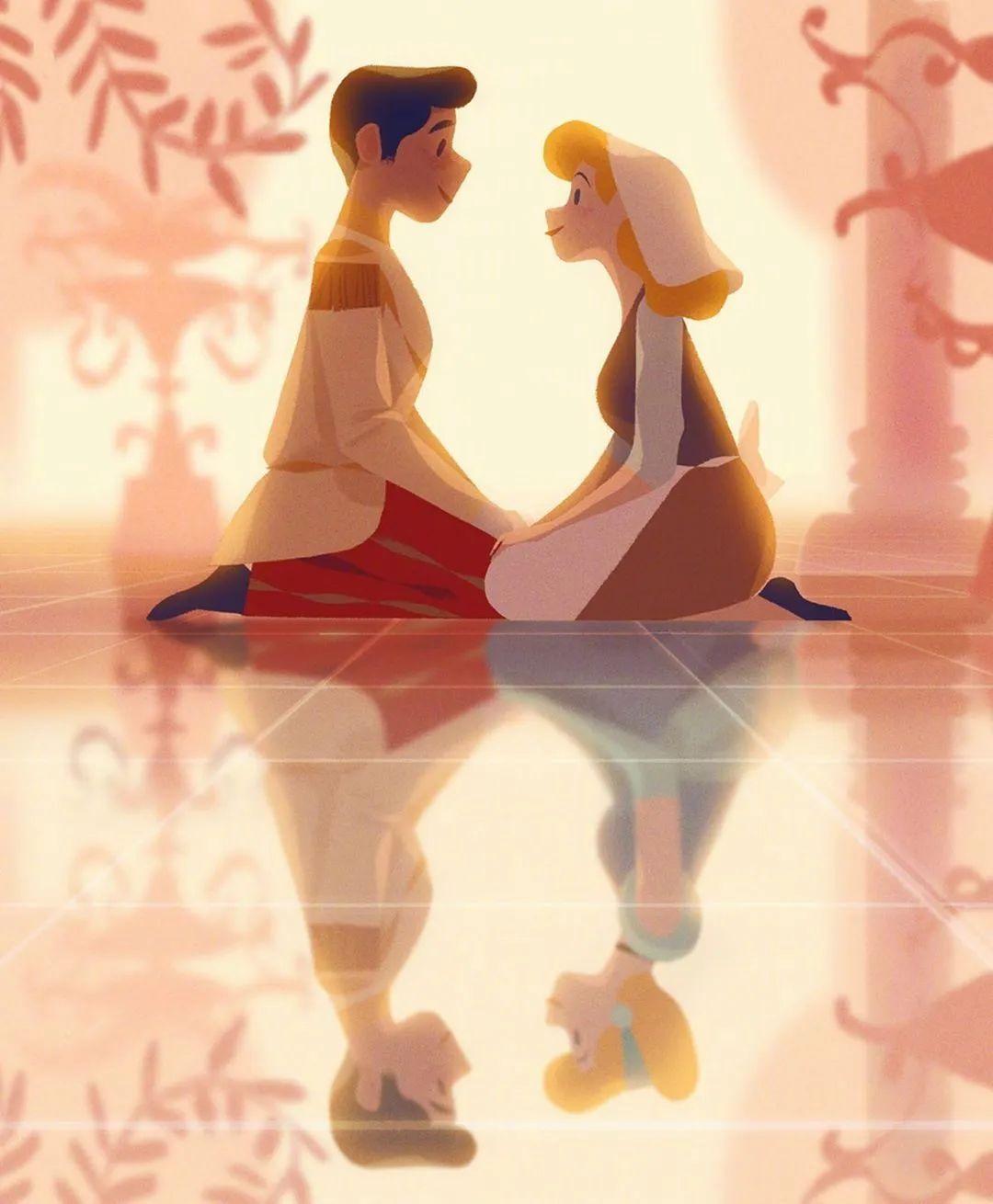 4月16日,二次元美图!迪士尼公主与王子+少女们大眼睛含泪花_图片 No.12