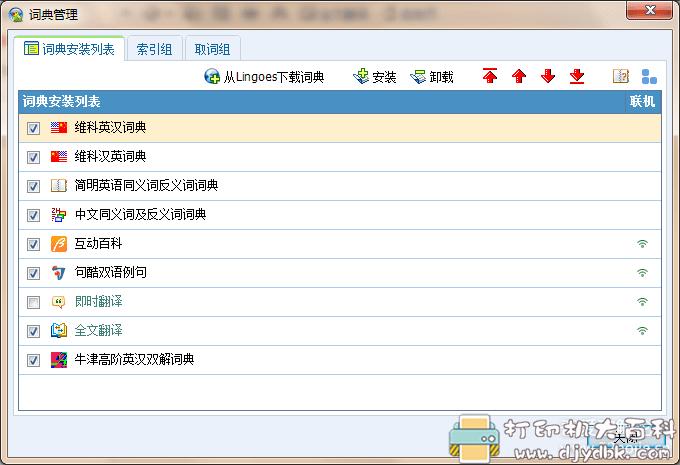 [Windows]灵格斯词典 中学词典包(高中最常用的词典都有收录)图片 No.4