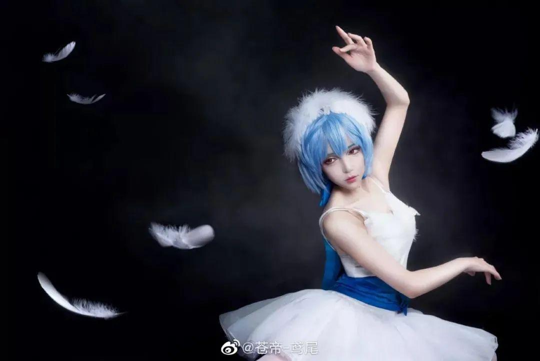 Cosplay—EVA 绫波丽,好仙的美少女啊_图片 No.7