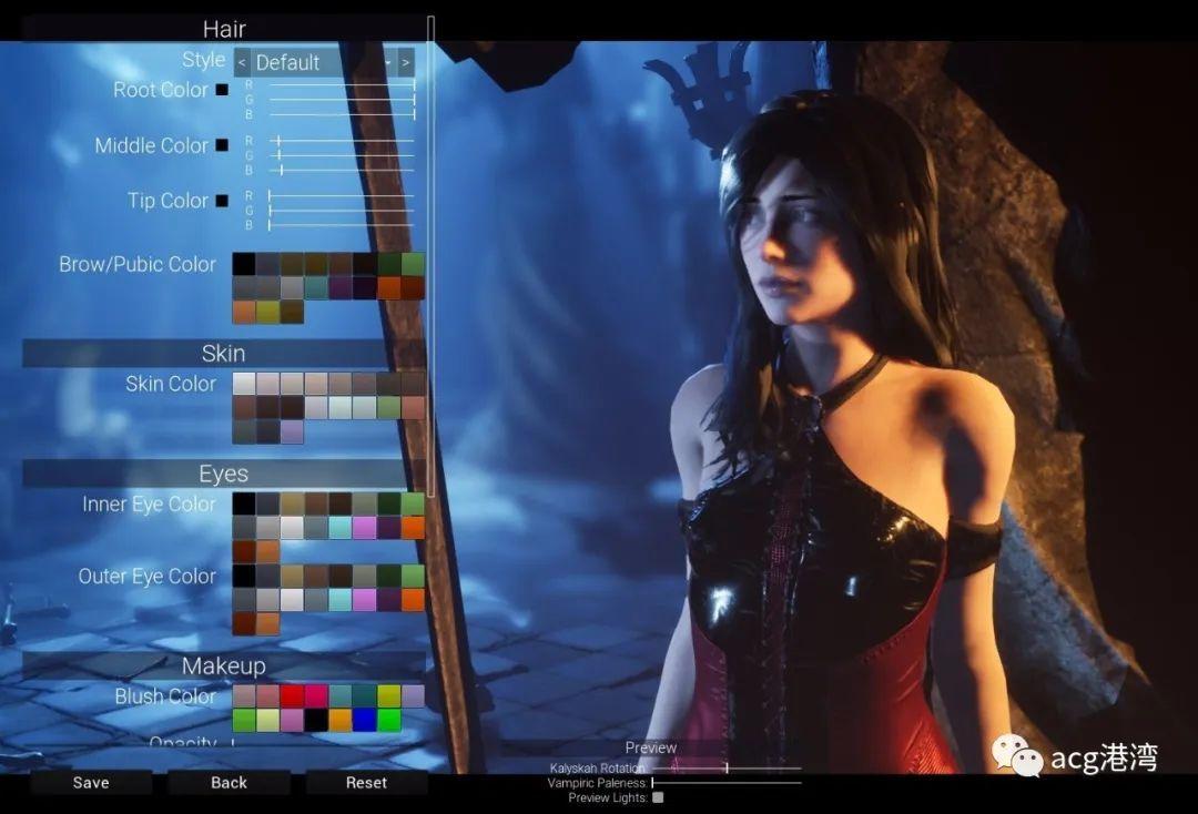 游戏 – 【大型ACT/3D/全动态】血族迷情·卡利斯卡 V1.0.4[虚幻4]【6G】【更新全CV】_图片 No.2