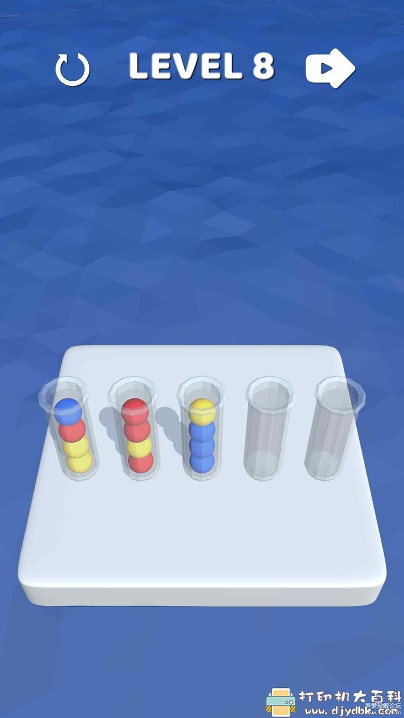 安卓益智小游戏-3D排序 Sort lt 3D图片 No.3