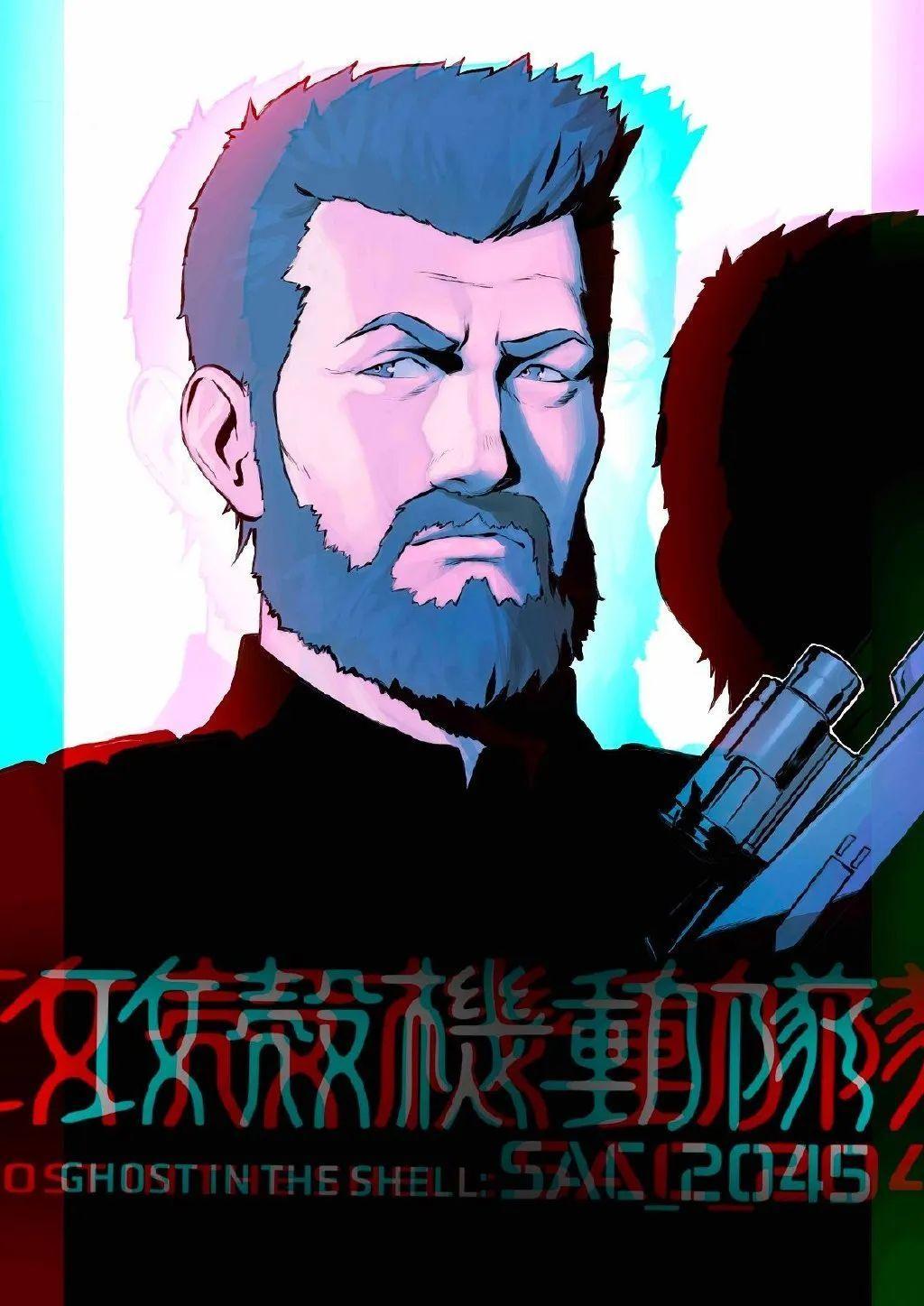 动画《攻壳机动队:SAC_2045》角色海报公布,4月23日Netflix独占播出_图片 No.8