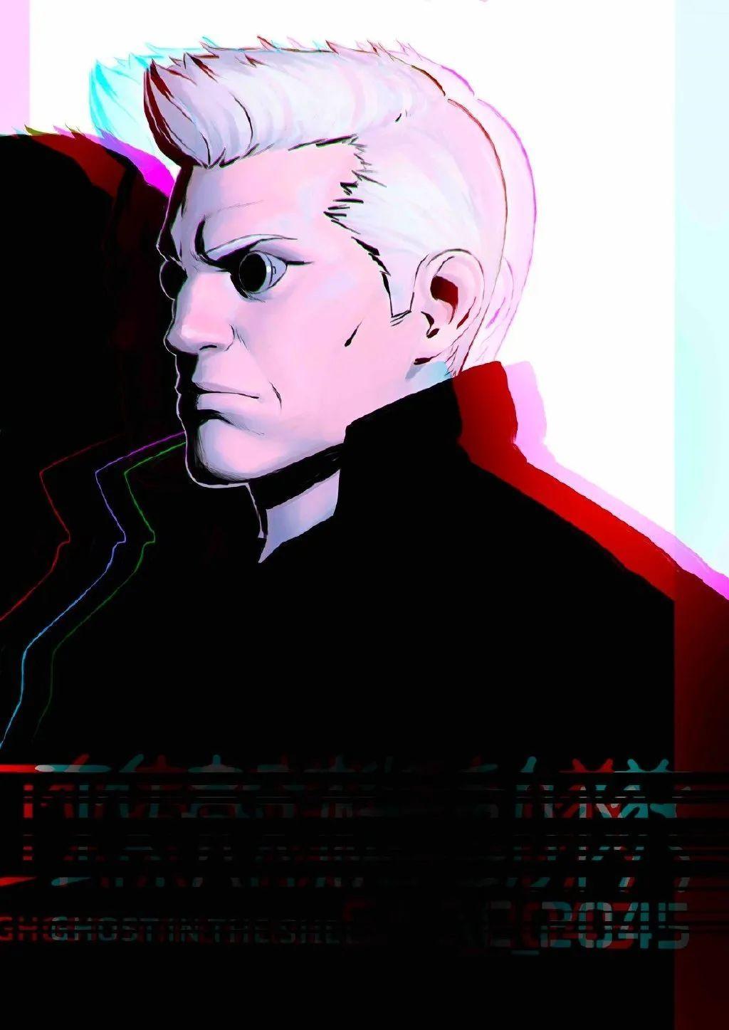 动画《攻壳机动队:SAC_2045》角色海报公布,4月23日Netflix独占播出_图片 No.11