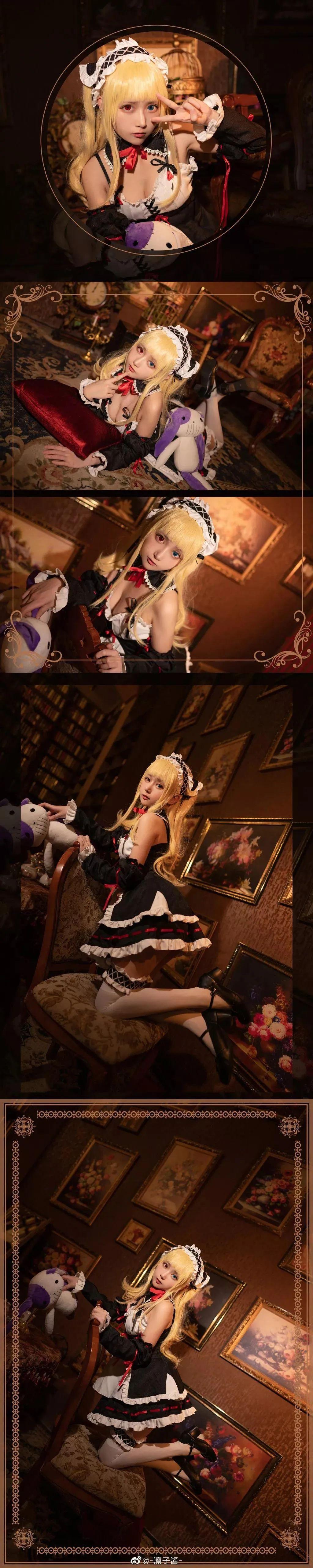 Cosplay—《我的朋友很少》女仆装 羽濑川小鸠,谁来把那个布娃娃拿掉?_图片 No.1