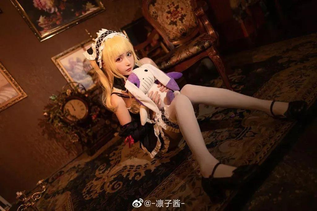 Cosplay—《我的朋友很少》女仆装 羽濑川小鸠,谁来把那个布娃娃拿掉?_图片 No.4