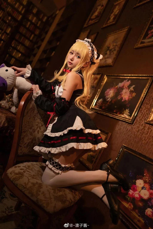 Cosplay—《我的朋友很少》女仆装 羽濑川小鸠,谁来把那个布娃娃拿掉?_图片 No.7