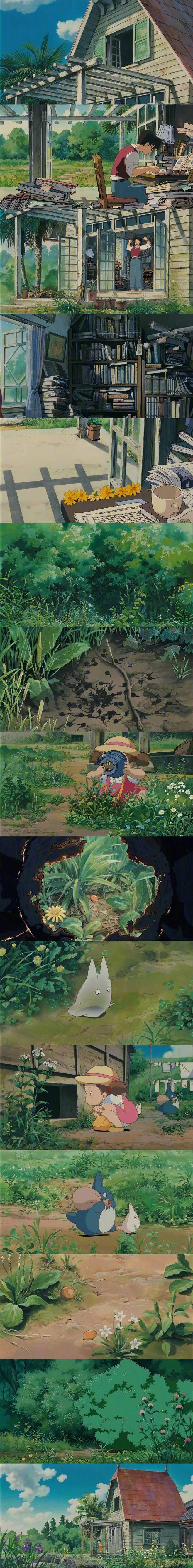 宫崎骏的动画世界 壁纸特辑,人间真有这些地方就好了!_图片 No.2